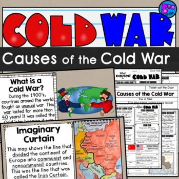 Cold War: Causes of the Cold War Lesson SS5H5a