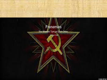 Cold War. Chapter 1. Frenemies. 1917-1949. Part 2