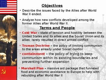 Cold War: Cold War Beginnings