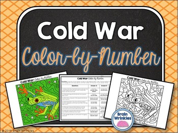 Cold War: Color-by-Number Activity
