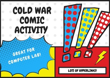 Cold War Comic Activity