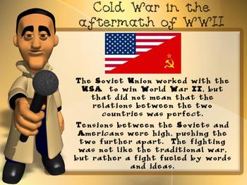 Cold War & Communism Spreads Bundle