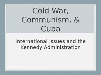 Cold War, Communism, and Cuba