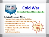 Cold War PowerPoint and Notes Bundle