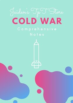 Cold War Comprehensive Notes
