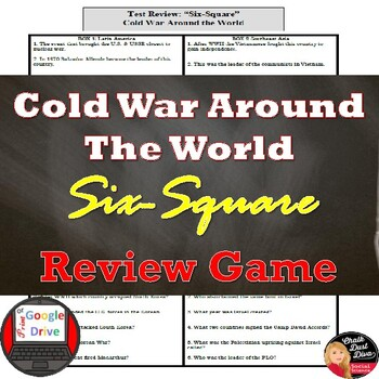 Cold War Conflicts Around the World Review – Six-Square Game