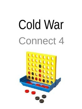 Cold War Connect 4 Vocabulary Station