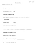 Cold War Crash Course Worksheet
