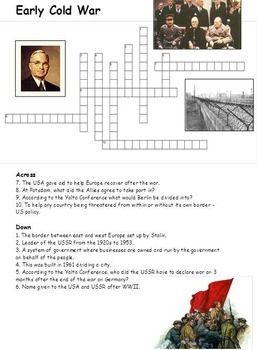 The Cold War Crossword Pack