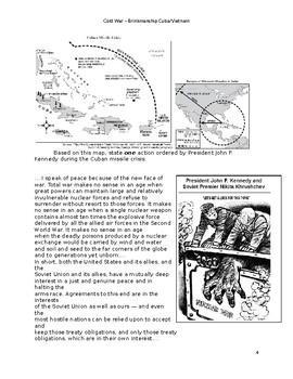 Cold War Cuba and Vietnam (US History)