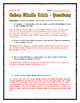 Cold War - Cuban Missile Crisis - Reading/Questions/Assignments (Map/Timeline)