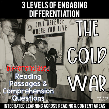 Cold War Differentiated Reading Passages