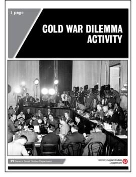 Cold War Dilemma Activity