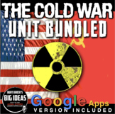 Cold War Unit Bundle - PPTs w/Video Links, Primary Source Docs, Assessment