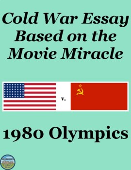 In An Essay What Is A Thesis Statement Cold War Essay Based On The Movie Miracle  Olympics Thesis Statement For Comparison Essay also Essay With Thesis Statement Cold War Essay Based On The Movie Miracle  Olympics  Tpt Essay On Health And Fitness