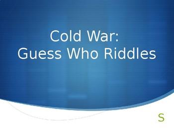 Cold War Event Riddles