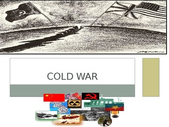 Cold War FULL UNIT POWERPOINT NOTES - Correlates with full student packet notes