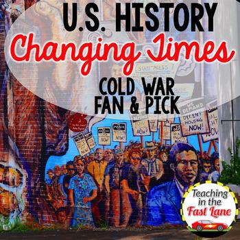 Cold War Fan & Pick {U.S. History}