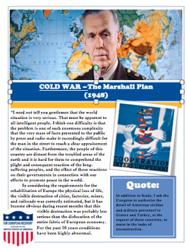 Cold War First Day - Introduction Lesson Bundle with Readings/Activities