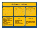 Cold War - Flash cards