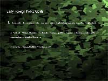 Cold War Foreign Policy: The Most Dangerous Game