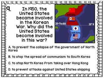 Cold War: Gallery Walk Test Review SS5H5