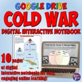 Cold War Google Drive Interactive Notebook for Distance Learning