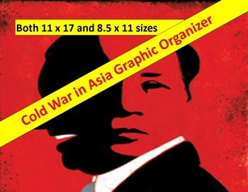 Cold War Graphic Organizer:  Asia   11 x 17 and 8.5 x 11 with key & questions