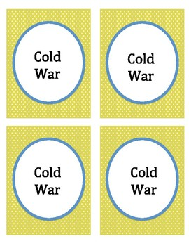 Cold War Headbands Game