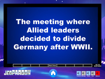 Cold War - History Game