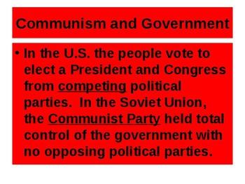 Cold War Homefront PowerPoint