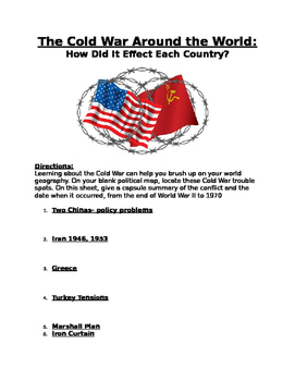 Cold War: How it affected different countries- history of