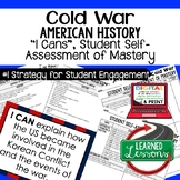 Cold War I Cans Student Self Assessment Mastery-- American