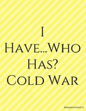 Cold War I Have Who Has Review Game