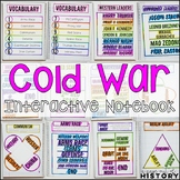 Cold War Interactive Notebook & Graphic Organizers