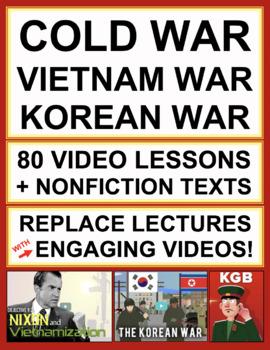 Cold War, Korean War, Vietnam War Complete Unit