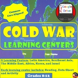 Cold War - Learning Centers -student centered activity -Print and DIGITAL