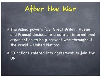 Cold War Lecture Presentation