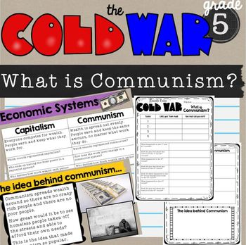 Cold War Lesson What is Communism?