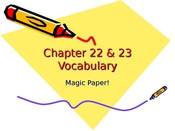 Cold War Magic Paper Assignment