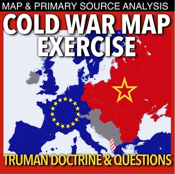 Cold War Map Exercise by Burt Brock\'s Big Ideas | TpT