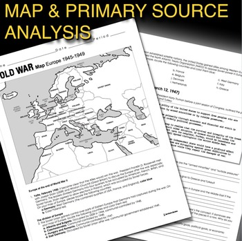 Cold War Map Exercise