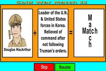 Cold War Match Game PDF - Part Two - Bill Burton