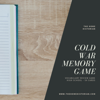 Cold War Memory Game