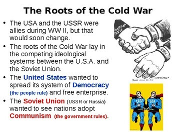 Cold War Student Guided Questions