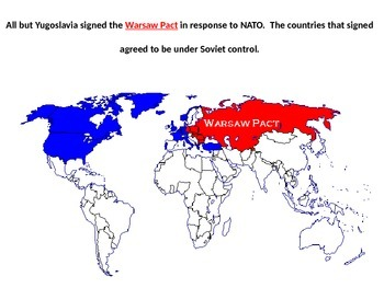 Cold War POWERPOINT WITH NOTES