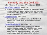 Cold War PPT - Many Youtube Hyperlinks, Animation, and Pictures
