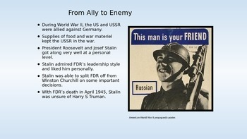 Cold War--Part I  1945-1962