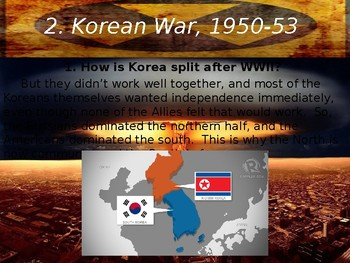 Cold War Part II Chapter 6. America, Korea, and Russia, 1945-1960