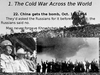 Cold War #9. The 1960s: The Cold War Across the World and Détente, 1964-1975